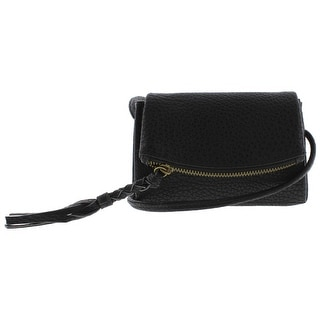 Twig & Arrow Womens Shar Faux Leather Mini Crossbody Handbag - SMALL