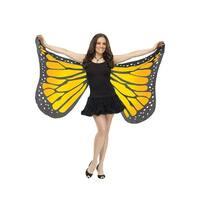Fun World Butterfly Adult Wings (Orange) - Orange