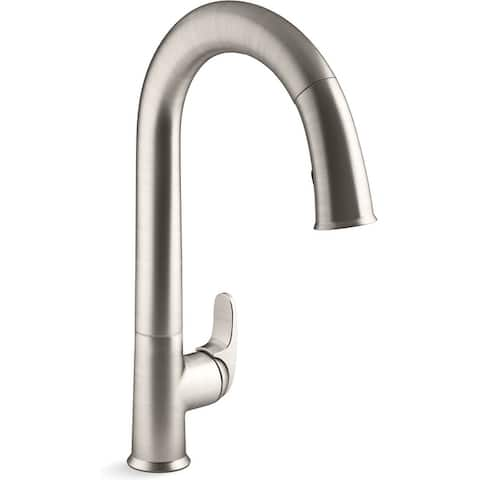 Kohler K-72218-WB Sensate Pull Down Kitchen Faucet with Touchless