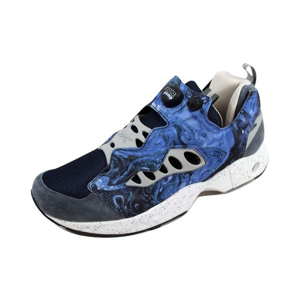0a03d1ce72b ... Men s Athletic Shoes. Reebok Men  x27 s Garbstore Instapump Fury Road  Blue Graphite-Snowy Grey