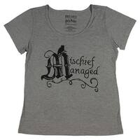 Harry Potter Juniors Mischief Managed Logo T-Shirt