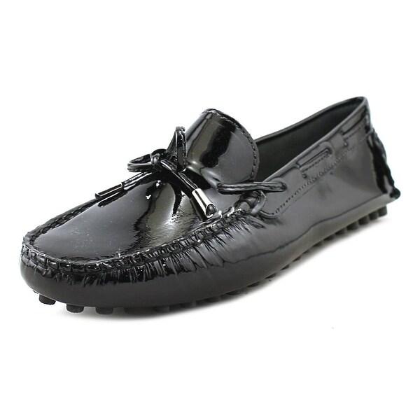 375077e862e Shop Mercanti Fiorentini String Tie Black Flats - Free Shipping ...