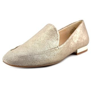 Nine West Xalan Women Square Toe Leather Gold Loafer https://ak1.ostkcdn.com/images/products/is/images/direct/2196122abd612e60df2c04da90ad79427ee0513f/Nine-West-Xalan-Square-Toe-Leather-Loafer.jpg?impolicy=medium