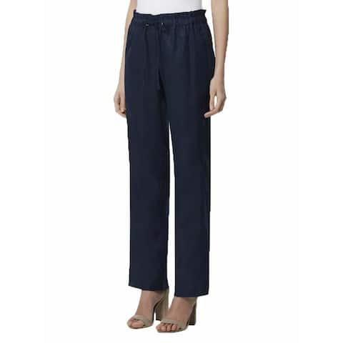 TAHARI Womens Navy Pants Size 12