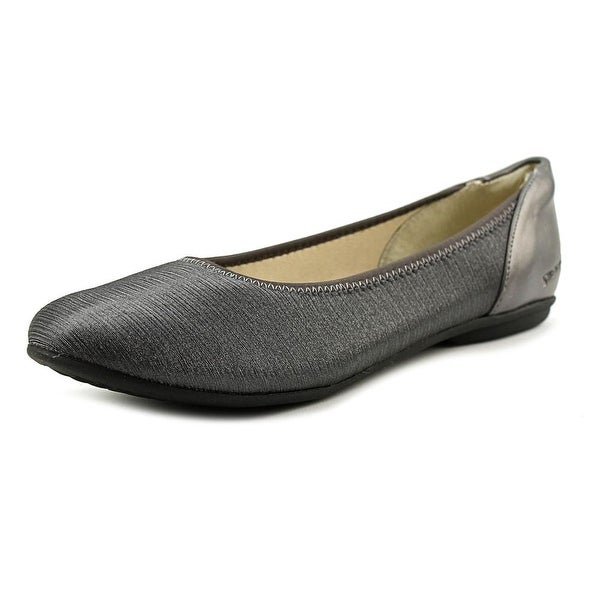 Stretchies Faye  W Round Toe Synthetic  Flats