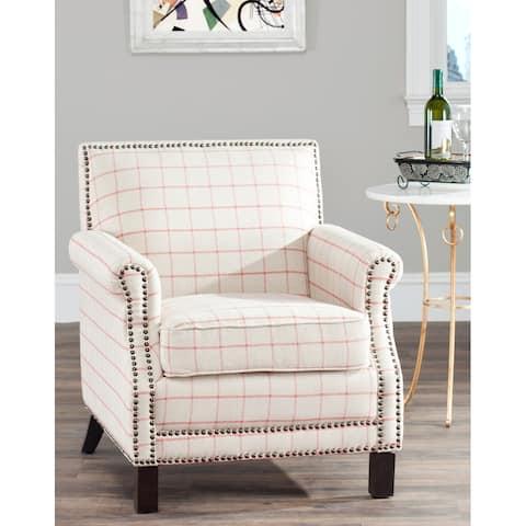 """Safavieh Easton Tan Club Chair - 28.3"""" x 33.1"""" x 31.7"""""""