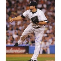 Signed Chamberlain Joba New York Yankees 8x10 Photo autographed