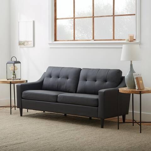 "Brookside Ellen 75"" Upholstered Scooped Arm Sofa"
