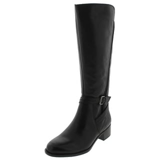 Naturalizer Womens Wynnie Knee-High Boots Leather Buckle