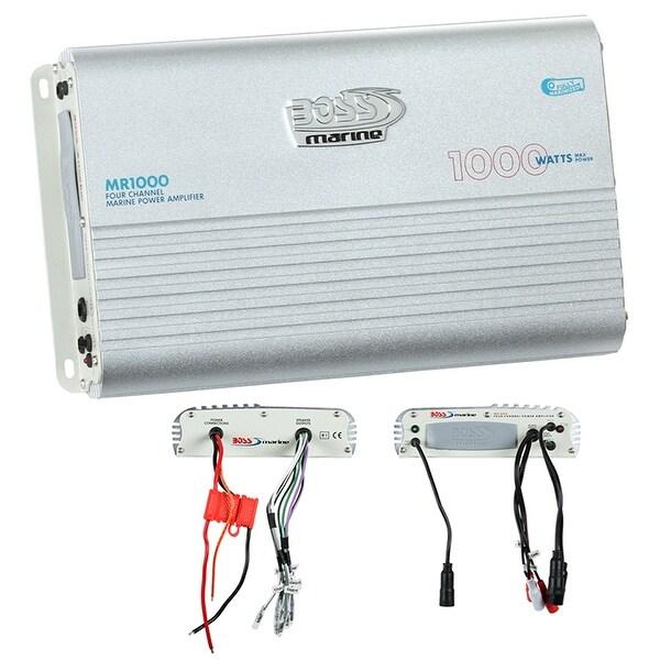 Boss Marine 4CH Mosfet Power Amplifier 1000W