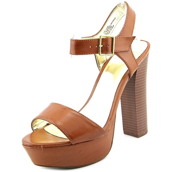 Material Girl Ciara Women Cognac Sandals