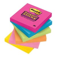 "Post-It 654-SSPK Super Sticky Notes, 3""x3"""