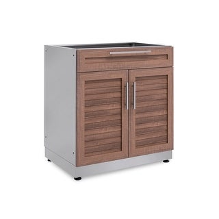 NewAge Products Outdoor Kitchen 32 Inch W x 23 Inch D Bar Cabinet
