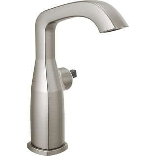 Delta 676-LHP-DST  Stryke 1.2 GPM Single Hole Mid-Height Bathroom Faucet with Diamond Seal Technology