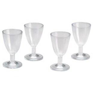 Wine Glasses 4/Pkg - Timeless Miniatures