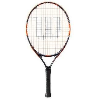Wilson Unisex Burn Team 23 Tennis Racket, Black/Orange, 3 5/8