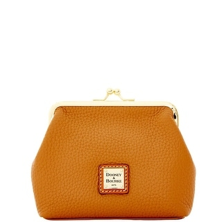 Dooney & Bourke Pebble Grain Large Framed Purse (Introduced by Dooney & Bourke at $58 in Dec 2014) - Caramel