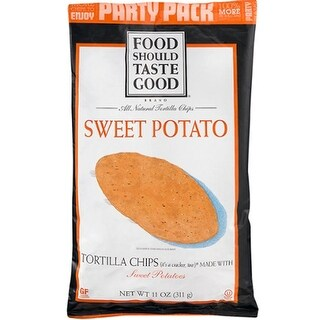Food Should Taste Good - Sweet Potato Tortilla Chips ( 12 - 11 oz bags)