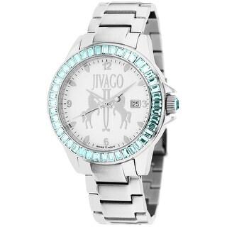 Jivago Women's Folie JV4219 White Dial watch