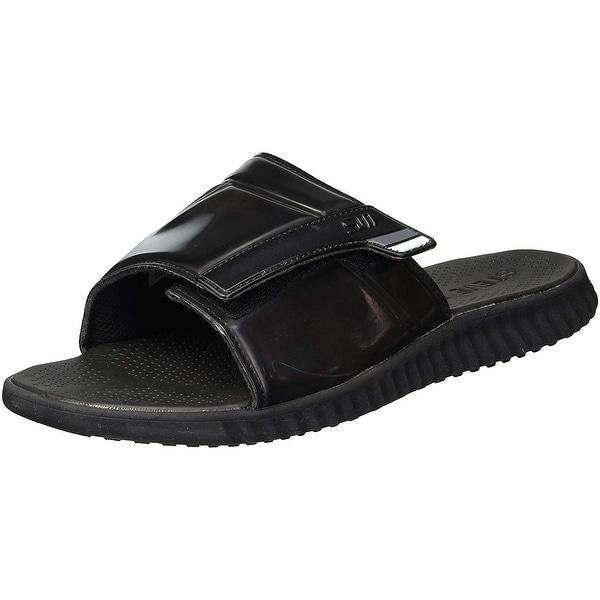 Shop Steve Madden Mens Strand Slip On Open Toe Flip Flops - Free Shipping On Orders -7167