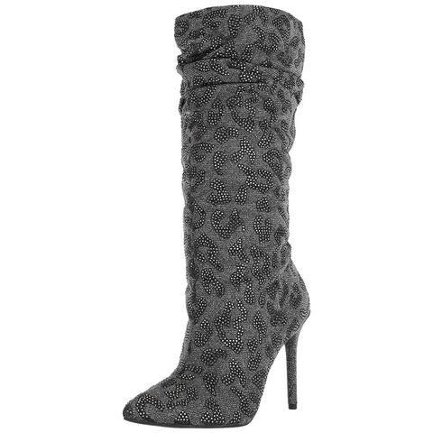 Jessica Simpson Womens Laraine Closed Toe Mid-Calf Fashion Boots