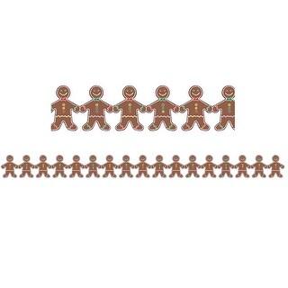 Gingerbread Men Border