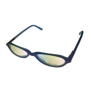 Jill Stuart Ophthalmic Womens Oval Blue Plastic Eyeglass Frame 137 2 - M