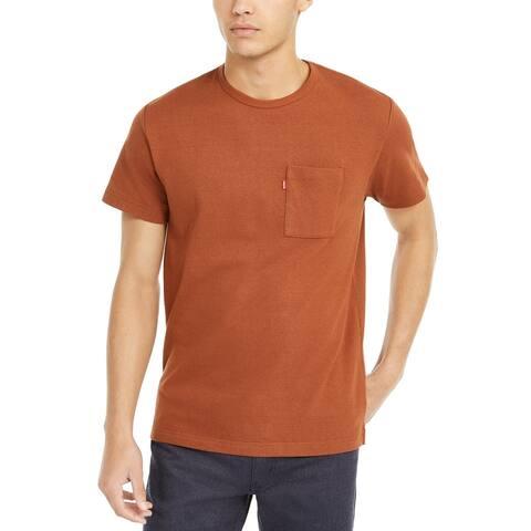 Levi's Men's Heavyweight Pocket T-Shirt Tortiose Shell Size Extra Large