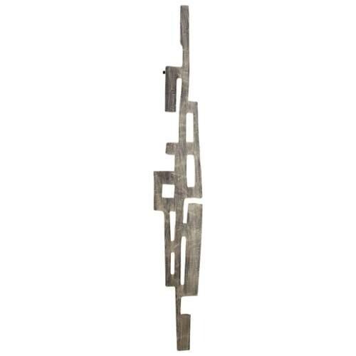 cyan design large samurai tower wall decor samurai tower 6275 x 10 iron wall decor sculpture graphite free shipping today overstockcom 20073578