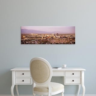 Easy Art Prints Panoramic Images's 'Tucson Arizona USA' Premium Canvas Art