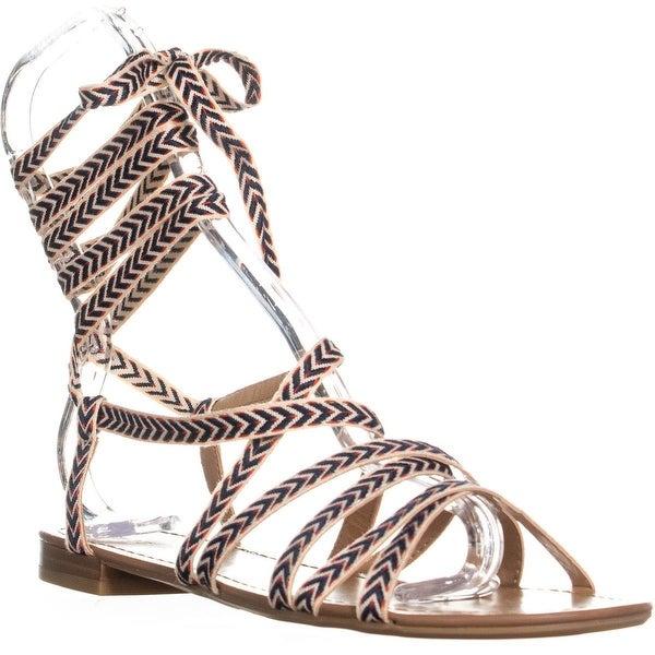 c2e18eecf26f Shop Call It Spring Afauma Lace Up Gladiator Sandals