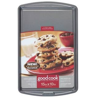 "Good Cook 04021 Non-stick Cookie Sheet, Medium, 15"" X 10""