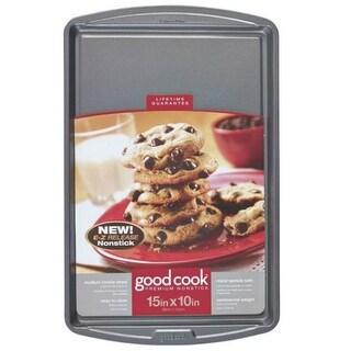 "Good Cook 04021 Non-stick Cookie Sheet, Medium, 15"" X 10"""