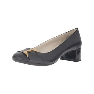 Anne Klein Womens Has To Be Pumps Dress
