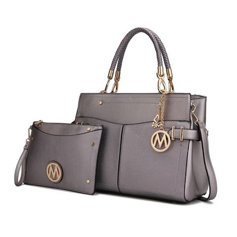 MKF Collection Addison Satchel & Wristlet by Mia k.