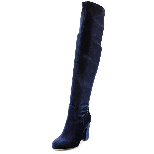 e165584405b Shop Madden Girl Felize Women Navy Boots - Free Shipping On Orders ...