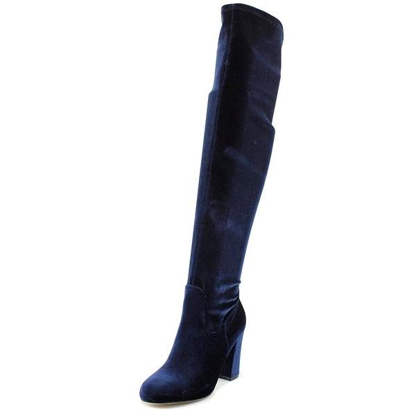 Madden Girl Felize Women Navy Boots