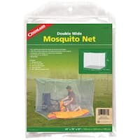 "Coghlan's 9760 Double Wide Mosquito Net, 63"" x 78"" x 59"", White"