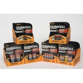 Duracell Coppertop Alkaline Battery Size AA - Quad Pack Box of 14 (56 batteries)