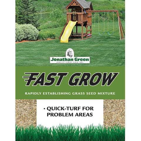 Jonathan Green 10810 Fast Grow Grass Seed Mixture, Up To 12500 Sqft, 25 Lbs