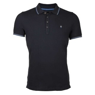Diesel T-Skin Polo in Total Eclipse