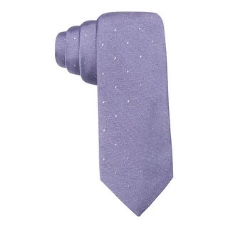 Ryan Seacrest Mens Napa Tonal Neck Tie Silk Pindot - o/s