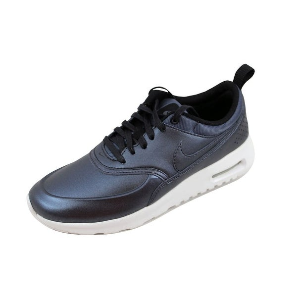 New Nike Women's Air Max Thea SE Shoes (861674 002) Metallic Hematite