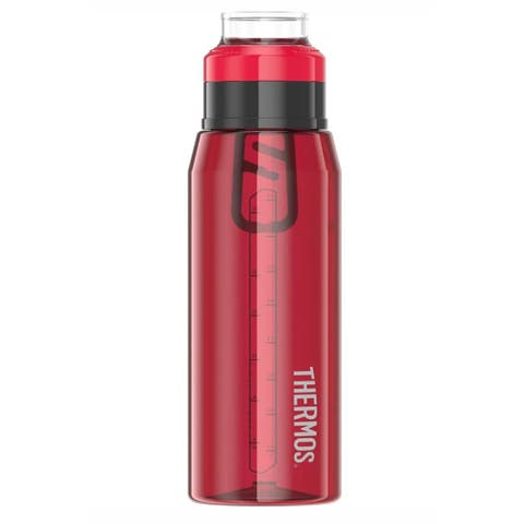 Thermos hydration bottle with 360 degree drink lid 32oz