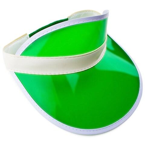 Official Green Casino Style Dealer Visor