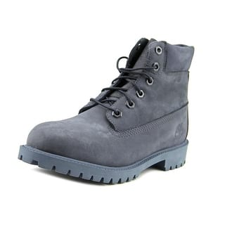 Timberland 6 Inch Prem Youth Round Toe Suede Blue Boot|https://ak1.ostkcdn.com/images/products/is/images/direct/21aec28a1e0854562822f04282d00eb2de4ce817/Timberland-6-Inch-Prem-Youth-Round-Toe-Suede-Blue-Boot.jpg?impolicy=medium