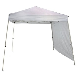 Sunnydaze Quick-Up Slate Leg Canopy or Canopy and Sidewall Set, Multiple Options
