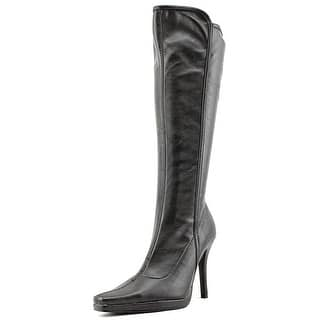 Chinese Laundry Faith Women Pointed Toe Synthetic Black Knee High Boot|https://ak1.ostkcdn.com/images/products/is/images/direct/21b0e924b613185e3affc380fd5a745670bf754a/Chinese-Laundry-Faith-Women-Square-Toe-Synthetic-Black-Knee-High-Boot.jpg?impolicy=medium