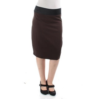 Womens Brown Casual Skirt Size M
