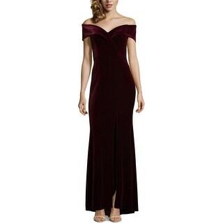 Xscape Womens Evening Dress Special Occasion Velvet